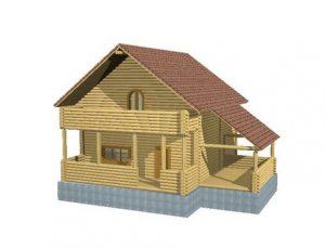 , Защита бревенчатого дома
