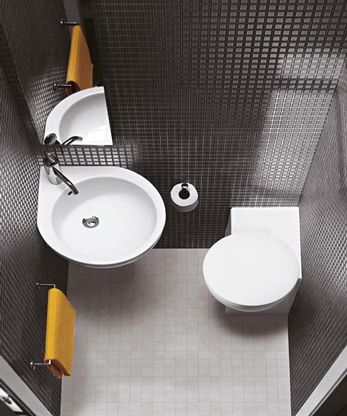 Фото: Угловой унитаз - новшество сантехники