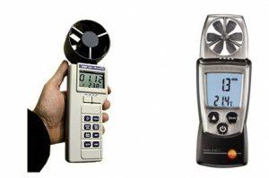 , Анемометр предназначен для точного и быстрого измерения потока воздуха и температуры