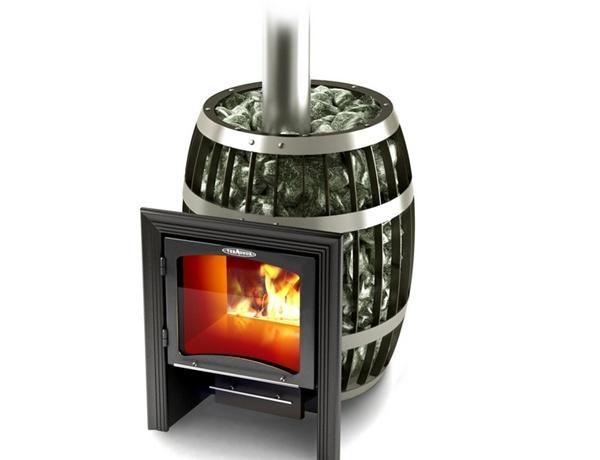 Кирпичная печь для бани с топкой